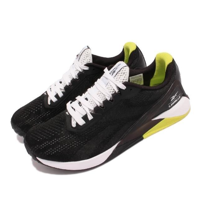【REEBOK】訓練鞋 Nano X1 運動 男鞋 健身房 避震 包覆 穩定 重訓 球鞋 黑 白(GZ8949)