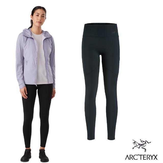 【Arcteryx 始祖鳥】女 Oriel 內搭 長褲 Legging(謎漾綠)