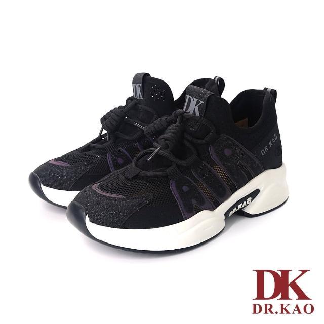 【DK 高博士】極簡百搭透氣老爹鞋 73-0124-90 黑色