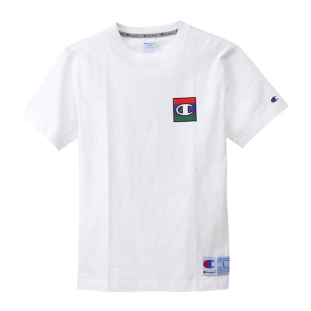 【Champion】日本限定-Action Style白色小LOGO短袖上衣NO.C3-Q302-010
