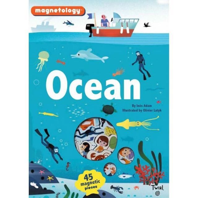 【Song Baby】Ocean Magnetology 海洋(遊戲磁鐵書)