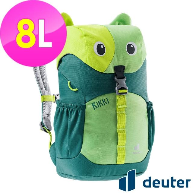 【ATUNAS 歐都納】可愛造型貓咪kikki兒童背包8L(3610421綠/深綠/休閒書包/戶外旅遊包/動物背包)