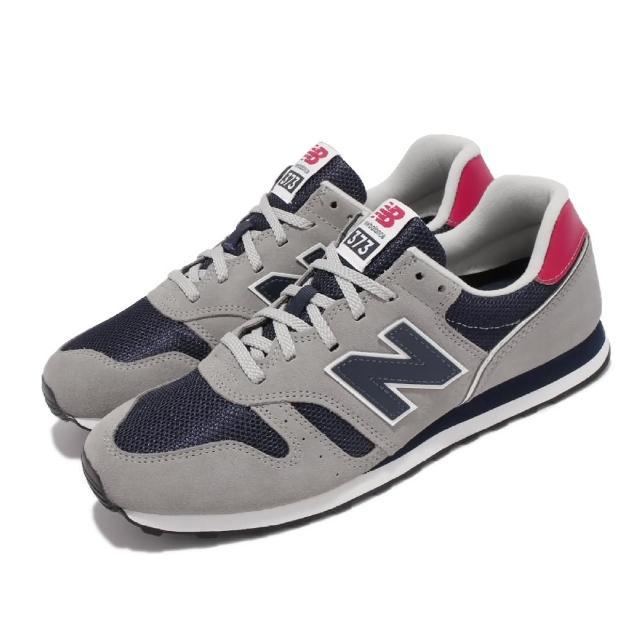 【NEW BALANCE】休閒鞋 373 經典 復古 男鞋 紐巴倫 麂皮 網布 穿搭推薦 灰 藍(ML373CT2-D)