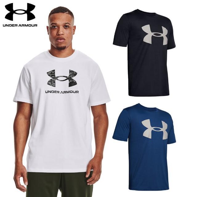 【UNDER ARMOUR】UA 男 Training Graphics短T-Shirt_1365199-100(白)