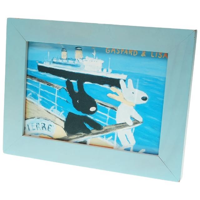 【TDL】麗莎&卡斯柏Gaspard & Lisa桌立相框 255842