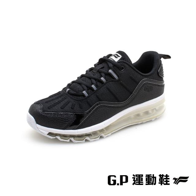 【G.P】全氣墊運動休閒鞋P7633W-黑色(SIZE:36-40 共二色)