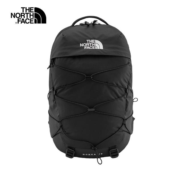 【The North Face】The North Face北面男女款黑色戶外休閒後背包|52SEKX7