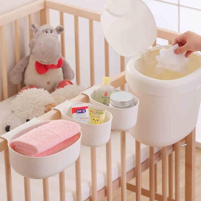 【i-smart】兒童尿布台寶寶護理台收納盒(六件組)