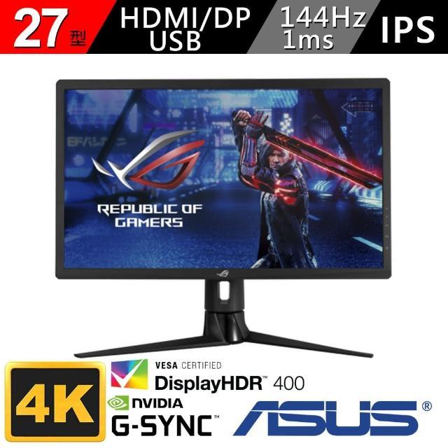 【ASUS 華碩】ROG Strix XG27UQR 144HZ HDR 4K電競螢幕