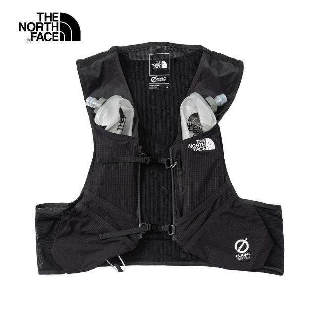 【The North Face】The North Face北面男女款黑色舒適透氣運動背心|52CVKX7