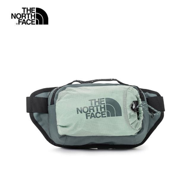 【The North Face】The North Face北面男女款淺綠色便捷休閒腰包|52RW170