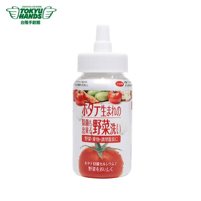 【TOKYU HANDS 台隆手創館】日本製貝殼粉添加蔬果清洗劑100g