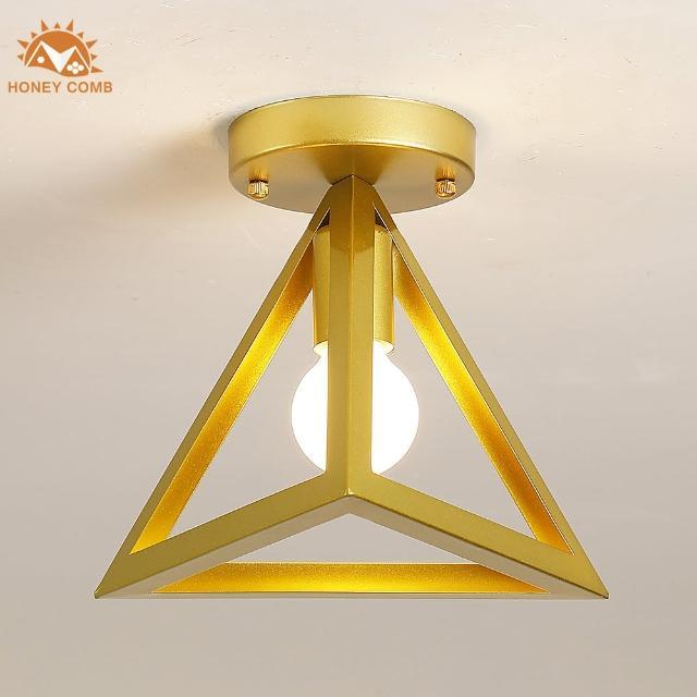 【Honey Comb】紐約工業風單吸頂玄關燈(KC2165)