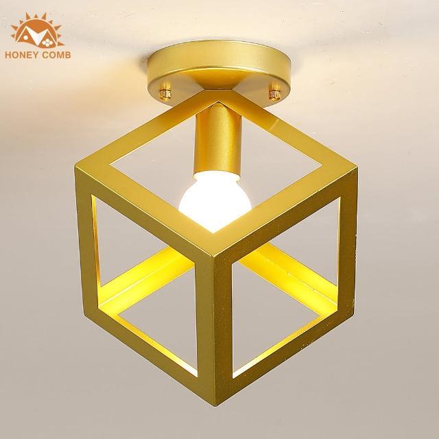 【Honey Comb】紐約工業風單吸頂玄關燈(KC2166)