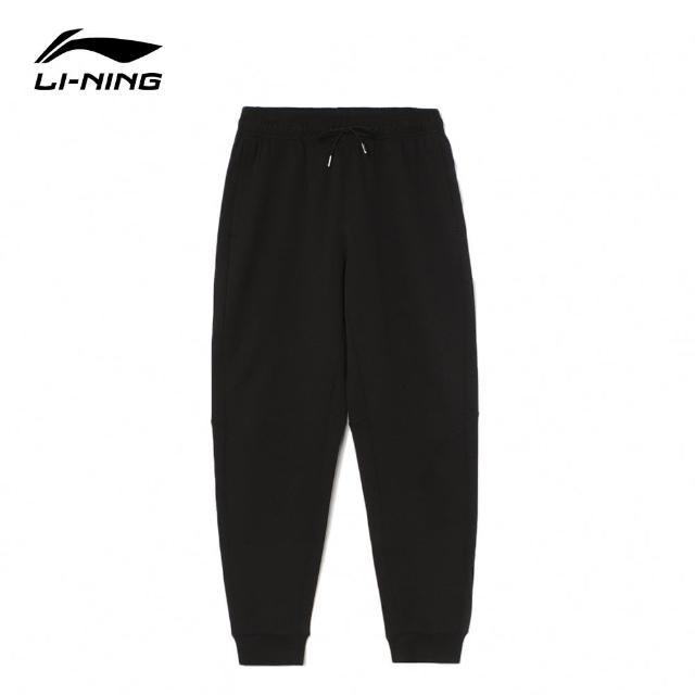 【LI-NING 李寧】反伍BADFIVE籃球系列男子運動長褲 黑色(AKLR391-1)