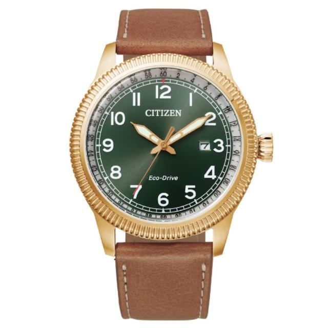 【CITIZEN 星辰】GENTS系列 光動能時尚腕錶(BM7483-15X)