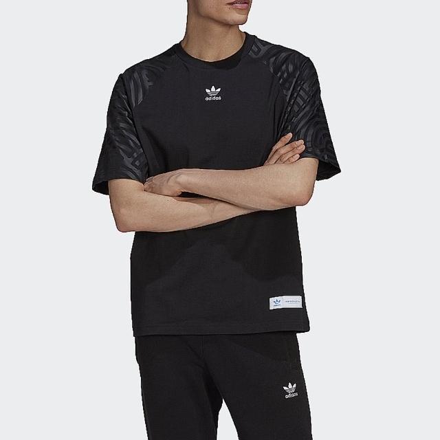 【adidas 愛迪達】上衣 男款 短袖上衣 運動 慢跑 訓練 HIROKO TAKAHASHI GJ6752 黑
