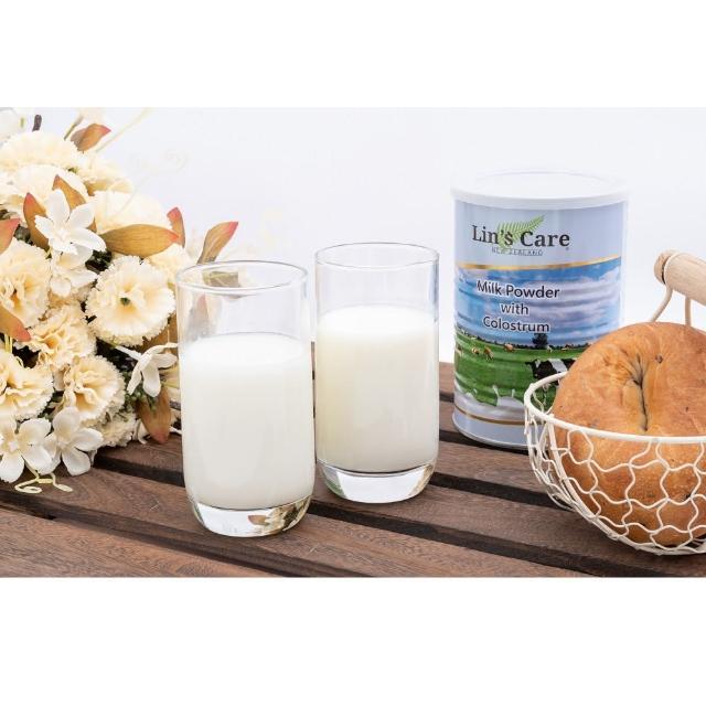 【即期品】紐西蘭Lin's Care高優質初乳奶粉 450g 3入組(效期:2021.12.30)