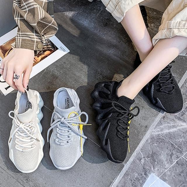 【A3】爆款休閒透氣時尚百搭老爹鞋(柔軟舒適透氣鞋.百搭款)