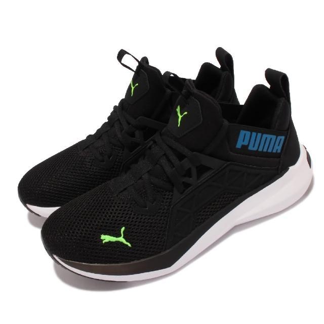 【PUMA】慢跑鞋 Softride Enzo NXT 男鞋 襪套式 基本款 運動休閒 緩衝 黑 白(195468-01)