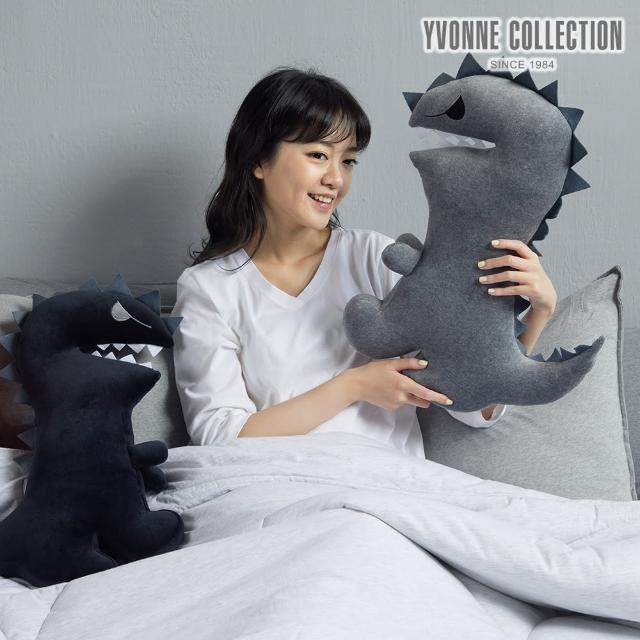 【Yvonne Collection】恐龍哥抱枕(時髦黑)