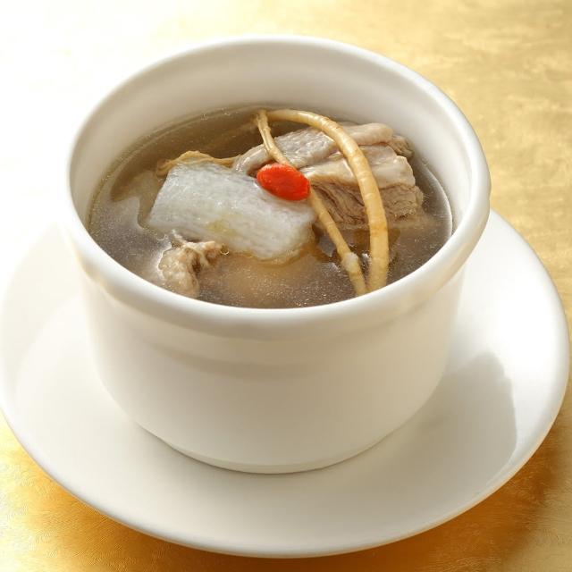 【上野物產】餡老滿 人蔘土雞湯 x1包(300g±10%/包)