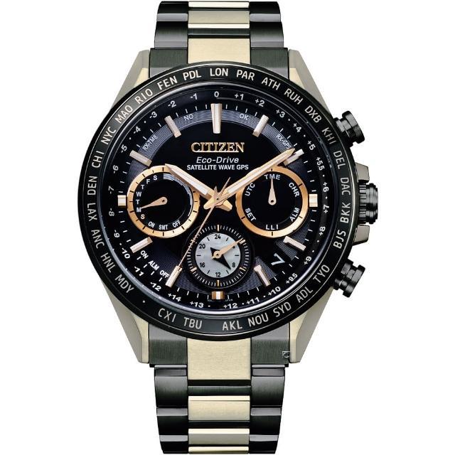 【CITIZEN 星辰】限量HAKUTO-R限定款 GPS衛星對時光動能手錶(CC4016-75E)