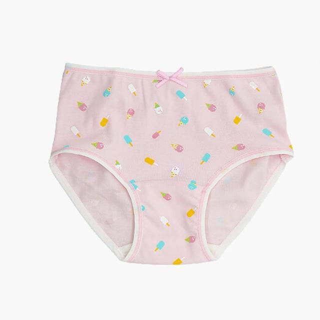 【annypepe】女童純棉冰淇淋三角褲-粉紅160