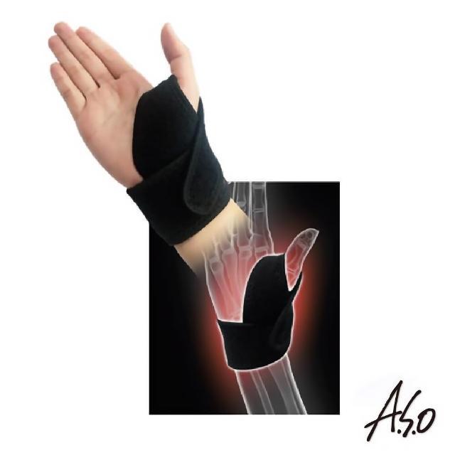 【A.S.O 阿瘦集團】遠紅外線拇指護腕帶(單個)