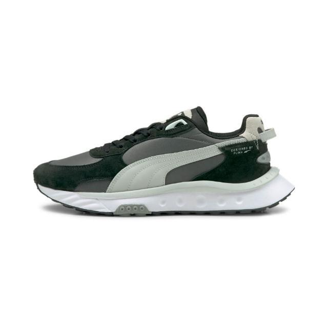 【PUMA】慢跑鞋 男鞋 運動鞋 緩震 黑灰 38151702