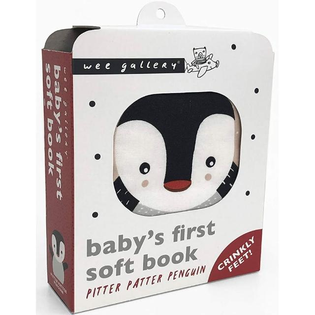 【Song Baby】Baby's First Soft Book:Pitter Patter Penguin 企鵝的冒險(布書)
