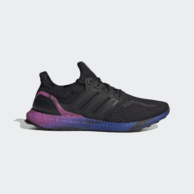 【adidas 愛迪達】慢跑鞋 男鞋 運動鞋 襪套 ULTRABOOST DNA 黑藍紫 GW4924