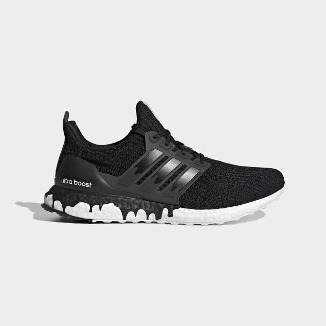 【adidas 愛迪達】慢跑鞋 男鞋 運動鞋 襪套 ULTRABOOST DNA 黑白 GZ3292
