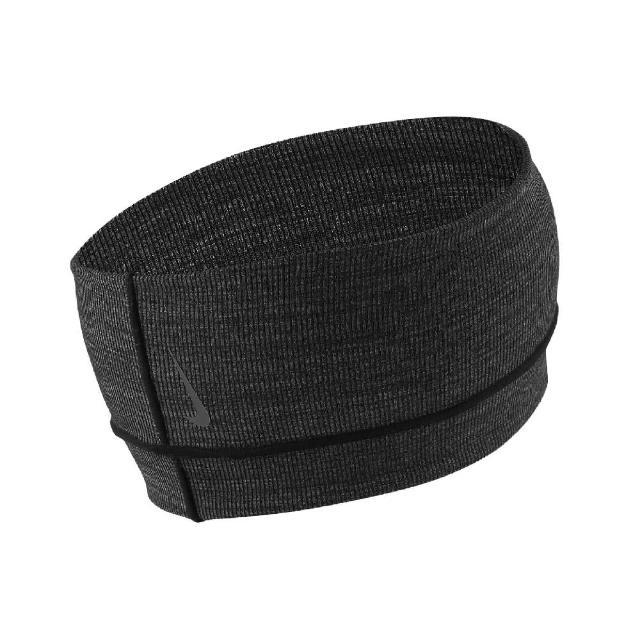 【NIKE 耐吉】頭帶 Studio Headband 男女款 運動 網球 慢跑 健身 街頭穿搭 黑 灰(N100161509-2OS)