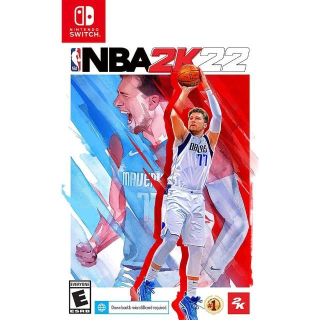 【Nintendo 任天堂】預購 9/10上市★ NS Switch NBA 2K22(中文一般版)