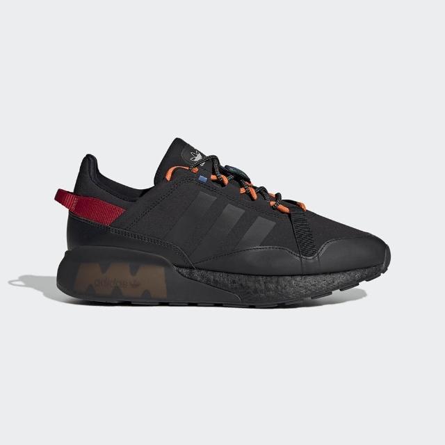 【adidas 愛迪達】慢跑鞋 男鞋 運動鞋 緩震 訓練 ZX 2K BOOST PURE 黑 GY7912