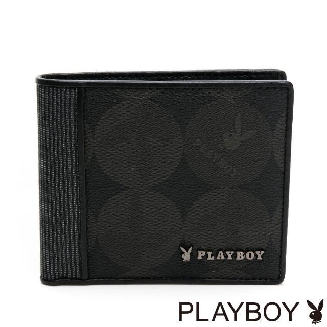 【PLAYBOY】基本短夾 League系列(黑色)