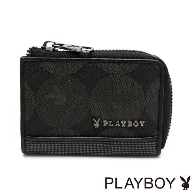 【PLAYBOY】零錢包 League系列(黑色)