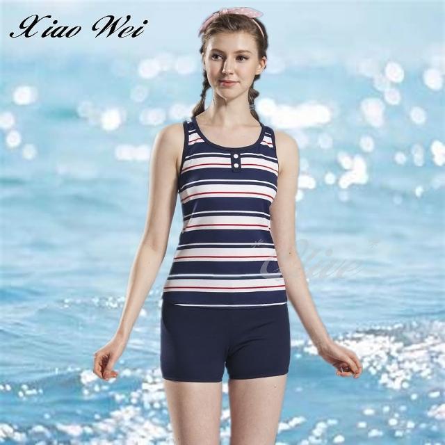 【小薇的店】台灣製泳之美時尚二件式泳裝(NO.83728)
