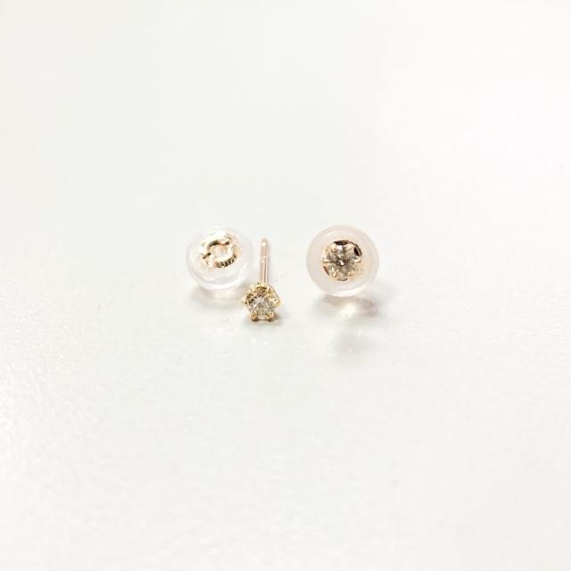【me.luxe】K10針18星星水滴耳環(日本輕珠寶網路銷售NO.1)