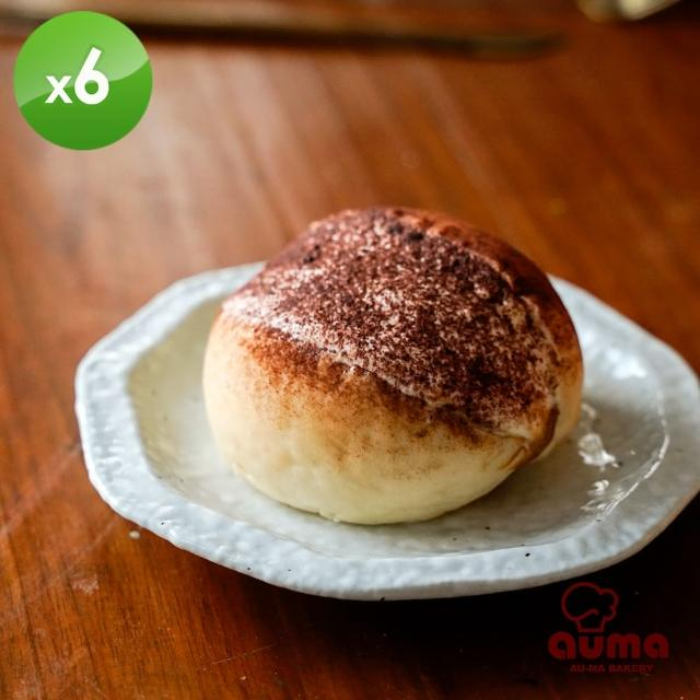 【奧瑪烘焙】羅馬生乳包提拉米蘇x6個