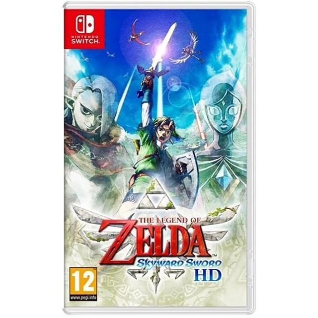 【Nintendo 任天堂】Switch遊戲 薩爾達傳說 禦天之劍(國際外盒版 支援中文)
