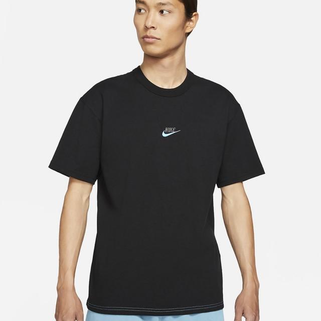 【NIKE 耐吉】短袖上衣 AS M NSW TEE PREMIUM ESSENTIAL 男款 黑藍(DB3194011)
