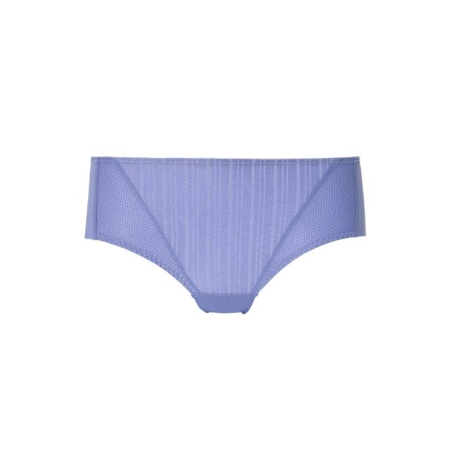 【Triumph 黛安芬】風格自在系列 涼感無痕中腰平口內褲 M-EEL(紫藕色)