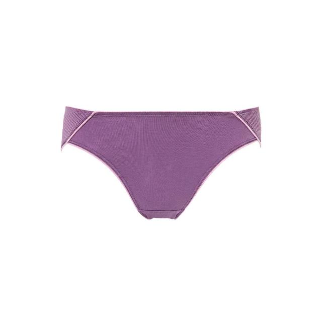 【Triumph 黛安芬】舒活自在系列 超細纖維透氣包覆低腰三角內褲 M-EEL(紫色)