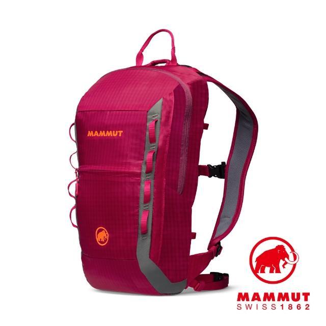 【Mammut 長毛象】Neon Light 12L 運動休閒背包 夕陽紅 #2510-02490