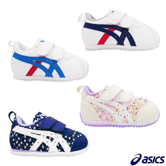 【asics 亞瑟士】小童機能穩定鞋(1144A151-101 13~15.5公分)