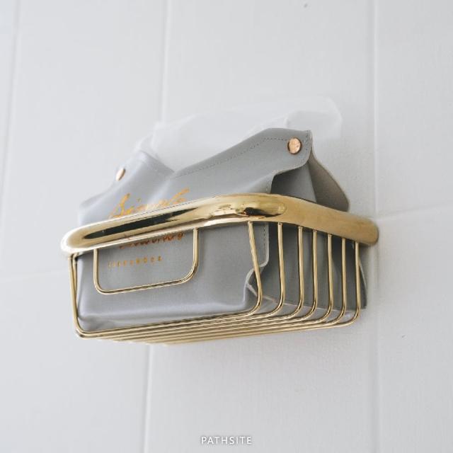 【帕斯特收納生活】歐式仿古 紙巾架衛生紙架 置物架 衛浴置物架(衛浴收納系列)