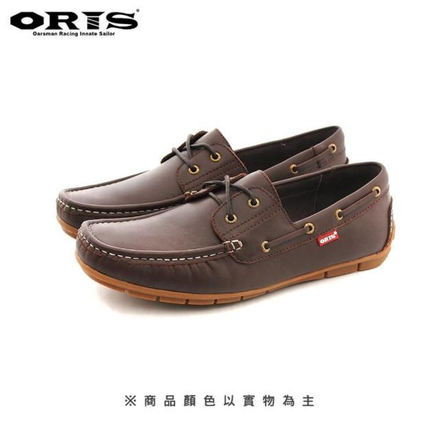 【oris 帆船鞋】ORIS英式手工馬克縫休閒皮鞋-咖啡-S943 03(真皮/手工/皮鞋)