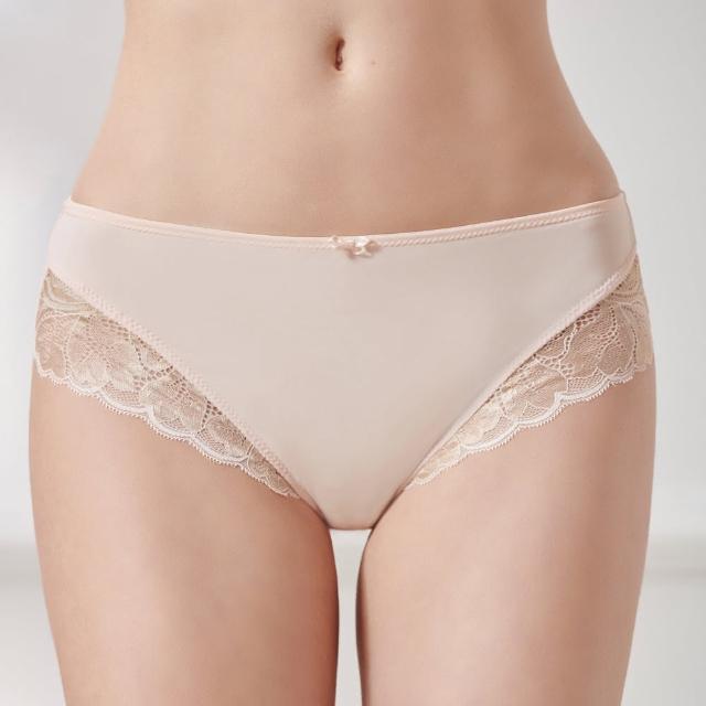 【Triumph 黛安芬】輕塑美型中腰三角內褲 M-EEL(蜜桃粉)